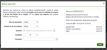 INTEGRADO EN EL MOTOR DE RESERVAS Y EL CHANNEL MANAGER