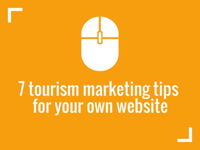 tourism marketing tips