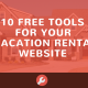 vacation rental free tools website