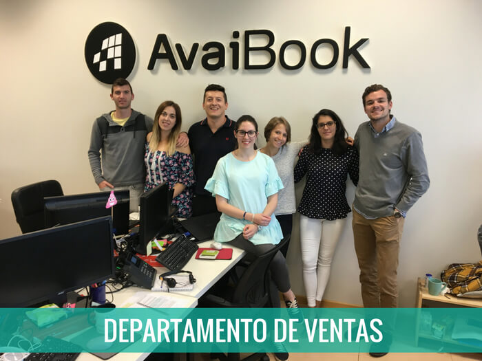 departamento ventas avaibook