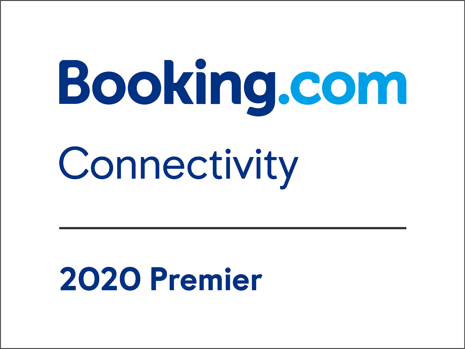 Booking.com Connectivity. 2020 Advanced. Recommended for Hosts of Vacation Rentals