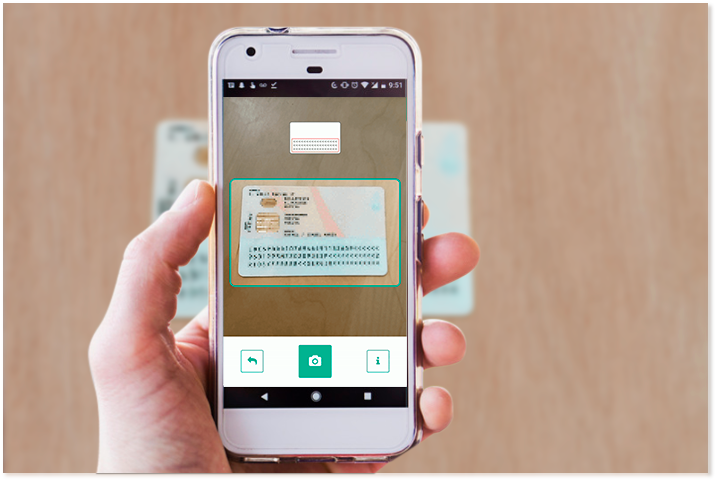 Capture and scan ID documents with your device's camera